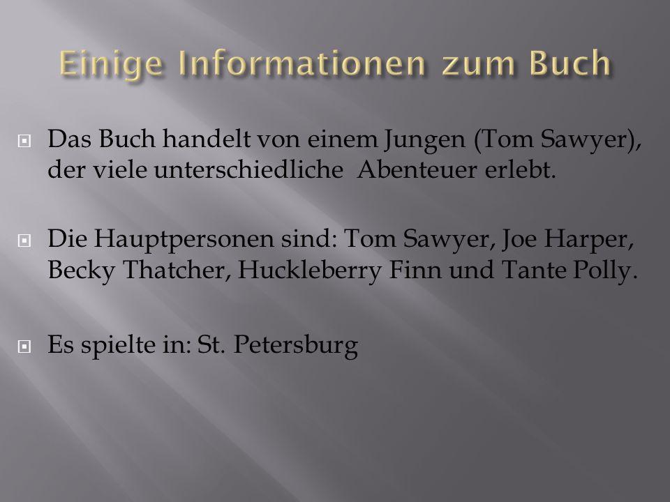 Einige Informationen zum Buch