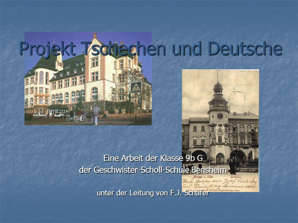 Projekt Tschechen und Deutsche