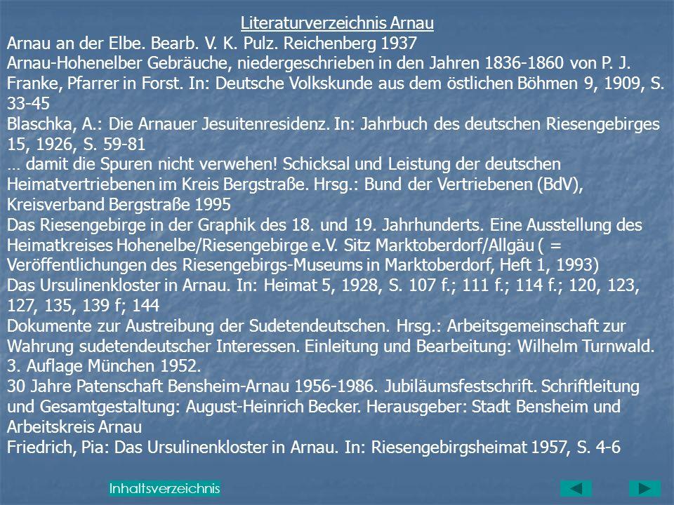 Literaturverzeichnis Arnau