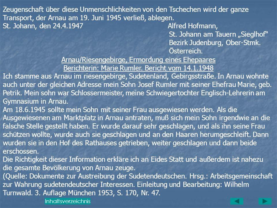 St. Johann, den 24.4.1947 Alfred Hofmann,