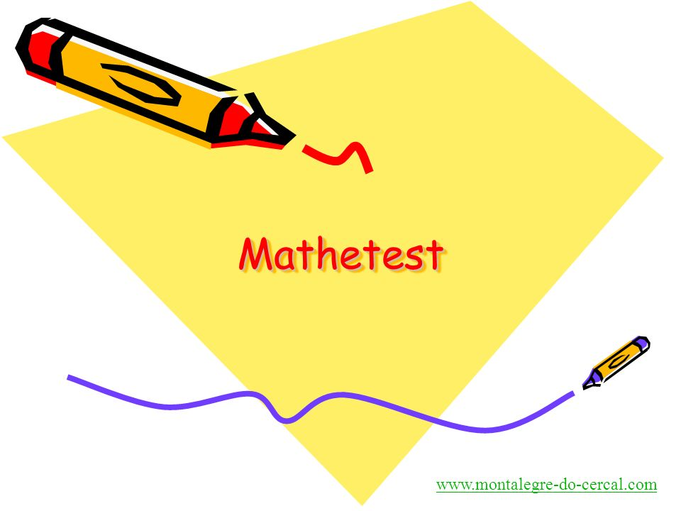 Mathetest www.montalegre-do-cercal.com