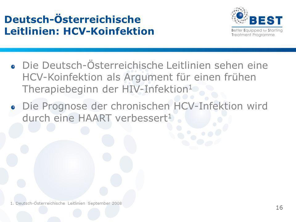 Deutsch-Österreichische Leitlinien: HCV-Koinfektion