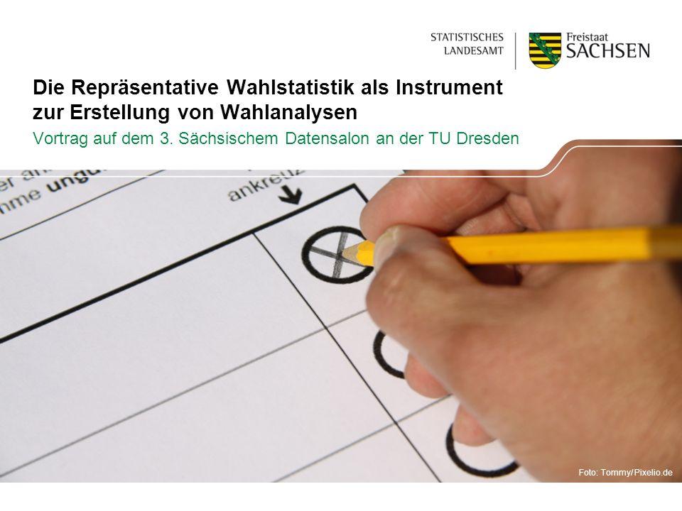 Vortrag auf dem 3. Sächsischem Datensalon an der TU Dresden