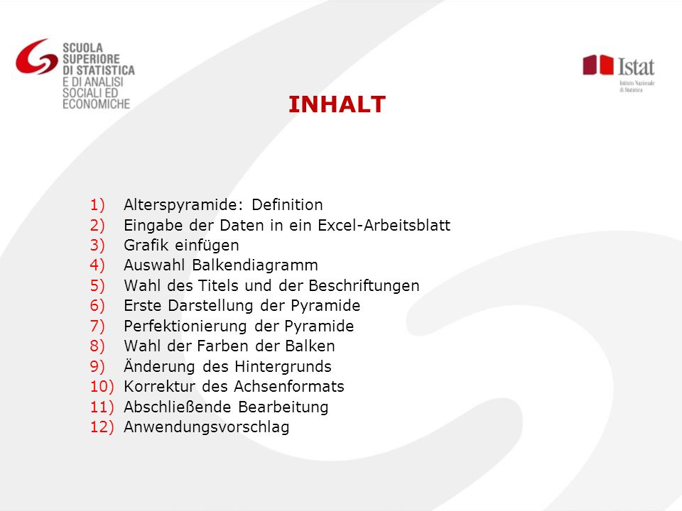 INHALT Alterspyramide: Definition