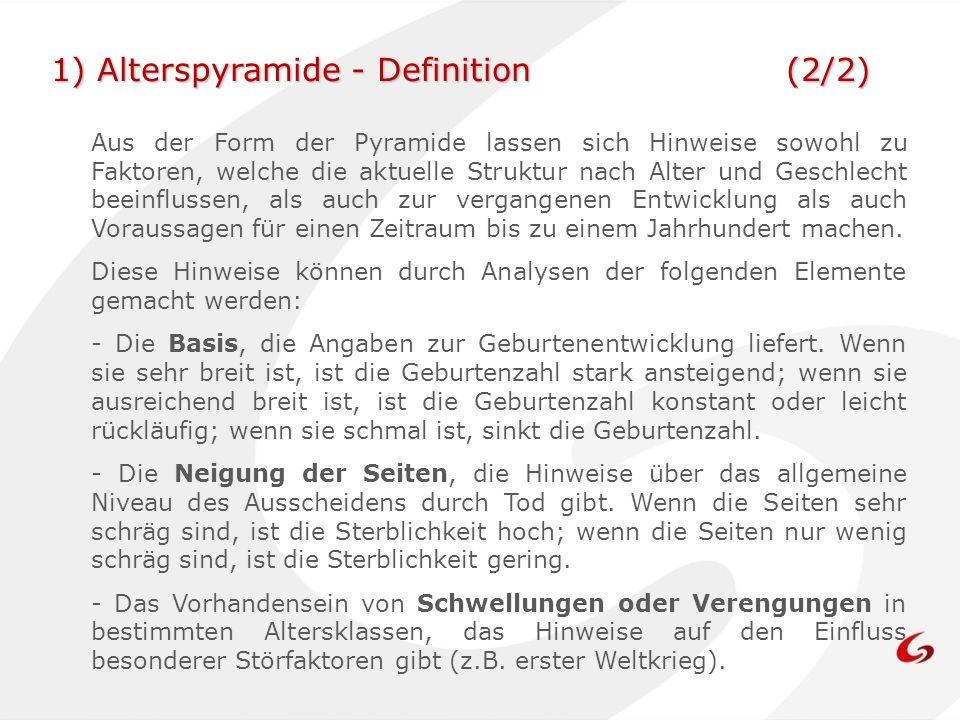 1) Alterspyramide - Definition (2/2)