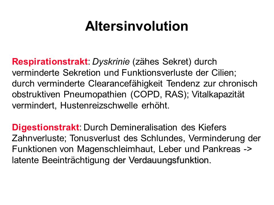 Altersinvolution