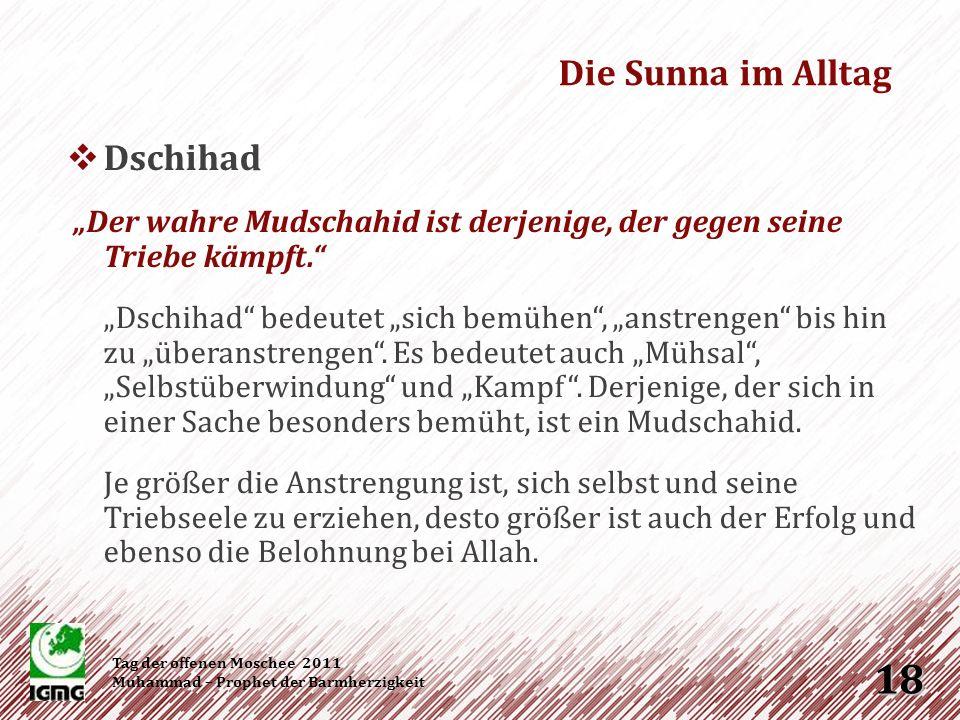 Die Sunna im Alltag Dschihad