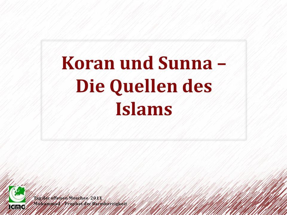 Koran und Sunna – Die Quellen des Islams