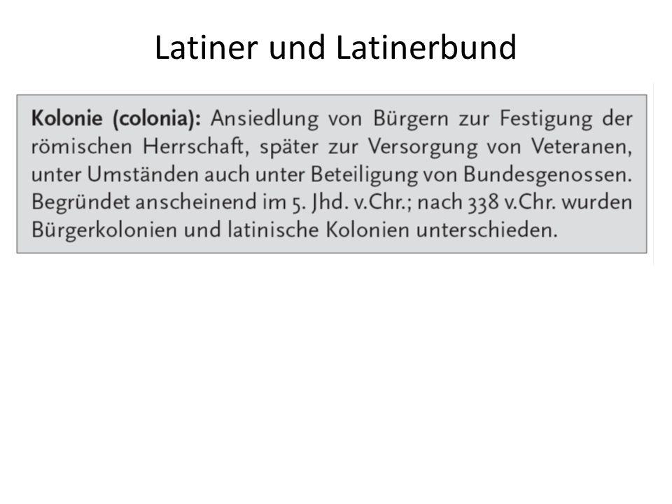 Latiner und Latinerbund