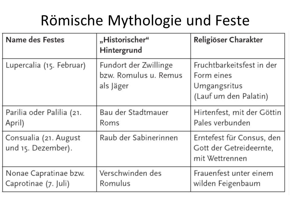 Römische Mythologie und Feste
