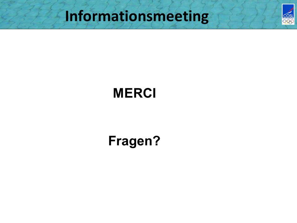 Informationsmeeting MERCI Fragen