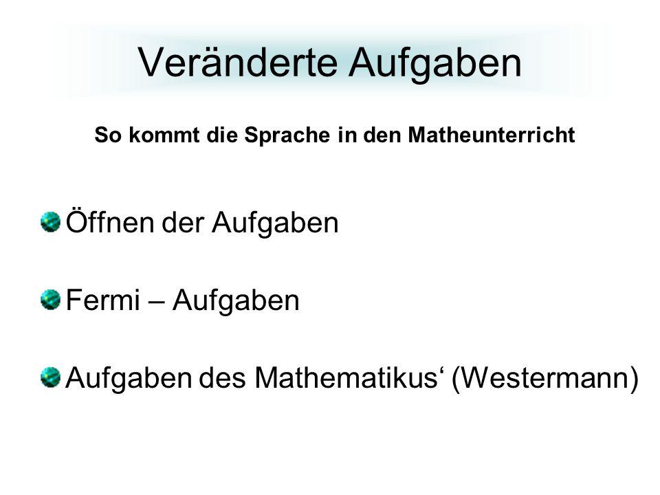 So kommt die Sprache in den Matheunterricht