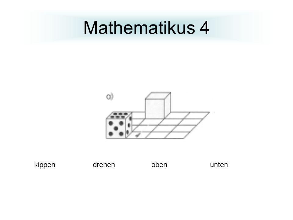 Mathematikus 4 kippen drehen oben unten