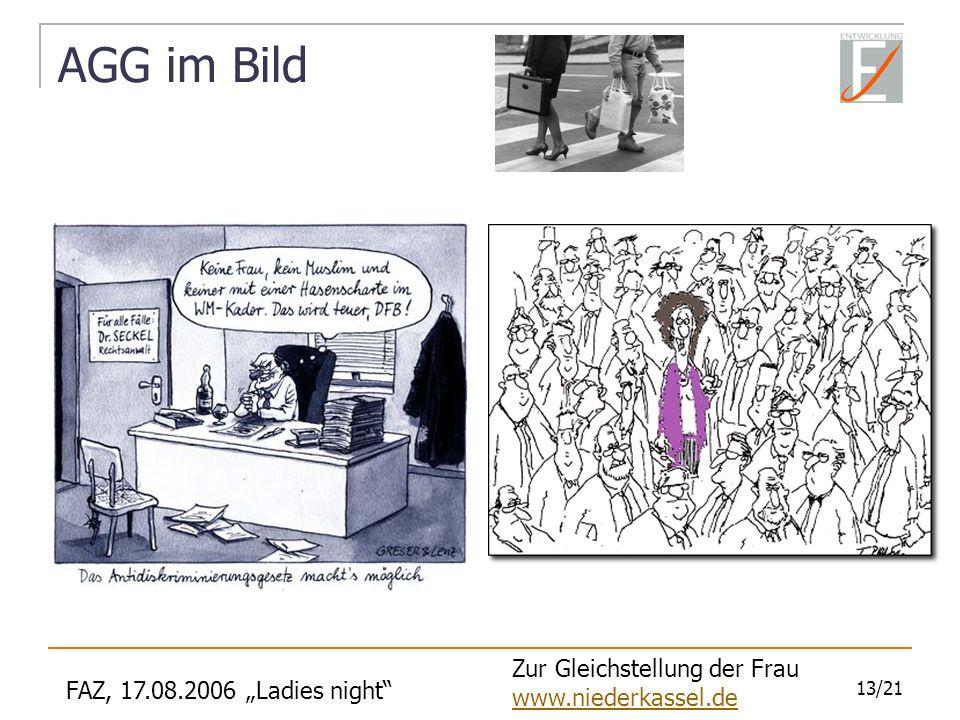 AGG im Bild Zur Gleichstellung der Frau www.niederkassel.de