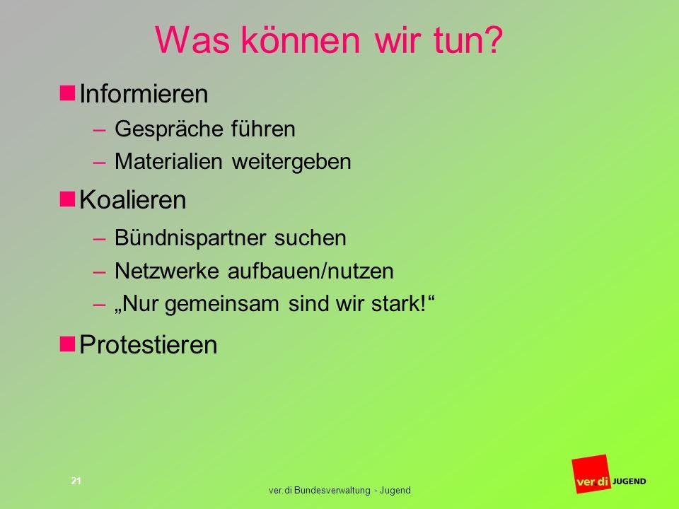 ver.di Bundesverwaltung - Jugend