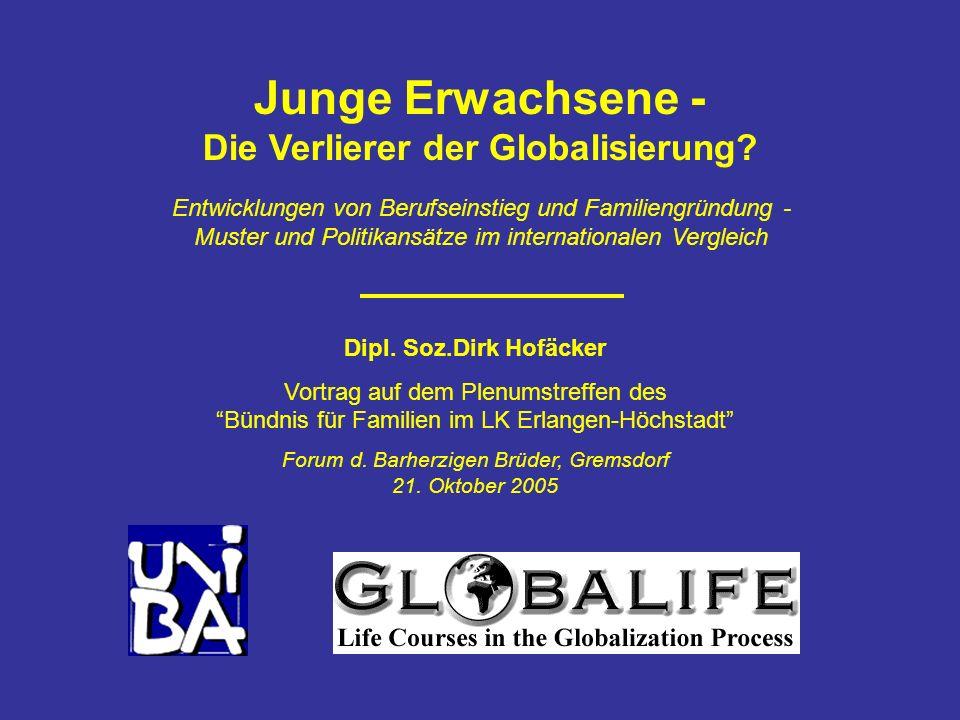 Junge Erwachsene - Die Verlierer der Globalisierung