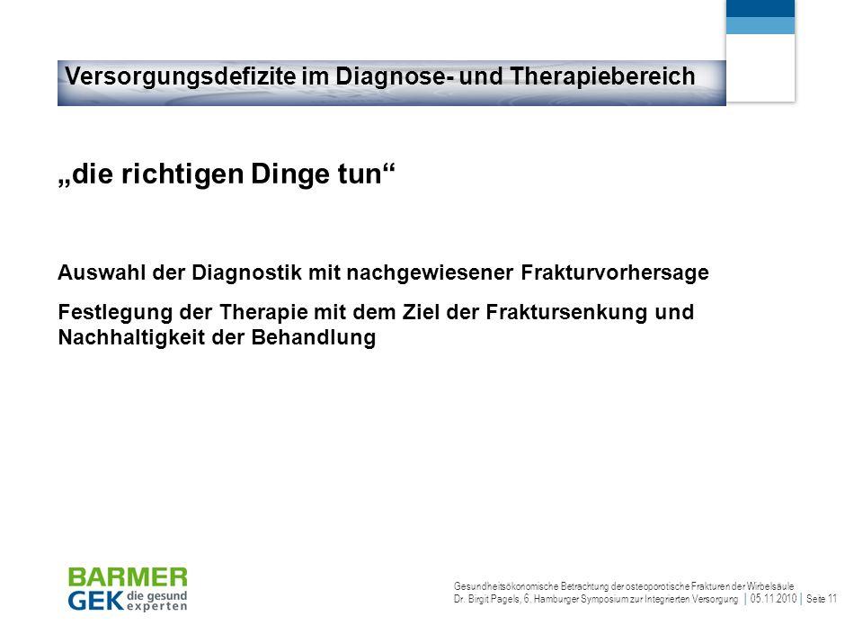 Versorgungsdefizite im Diagnose- und Therapiebereich