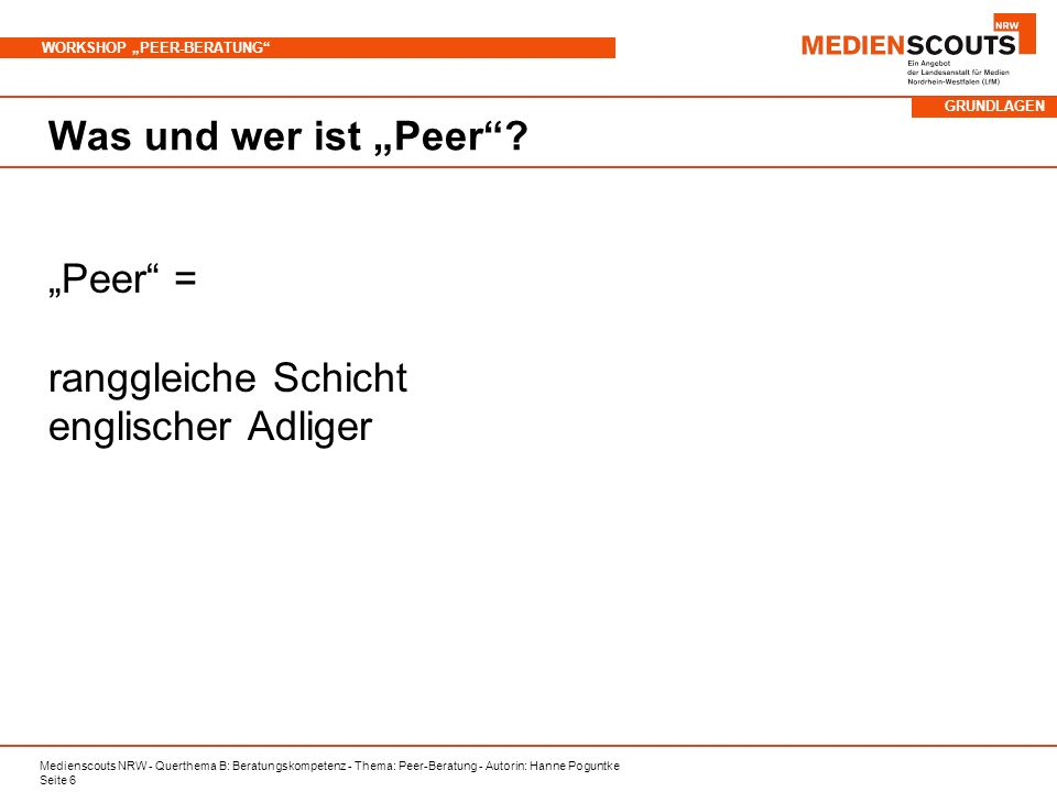 """""""Peer = ranggleiche Schicht englischer Adliger"""