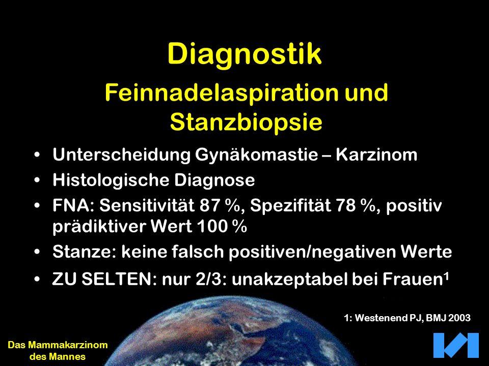Diagnostik Feinnadelaspiration und Stanzbiopsie
