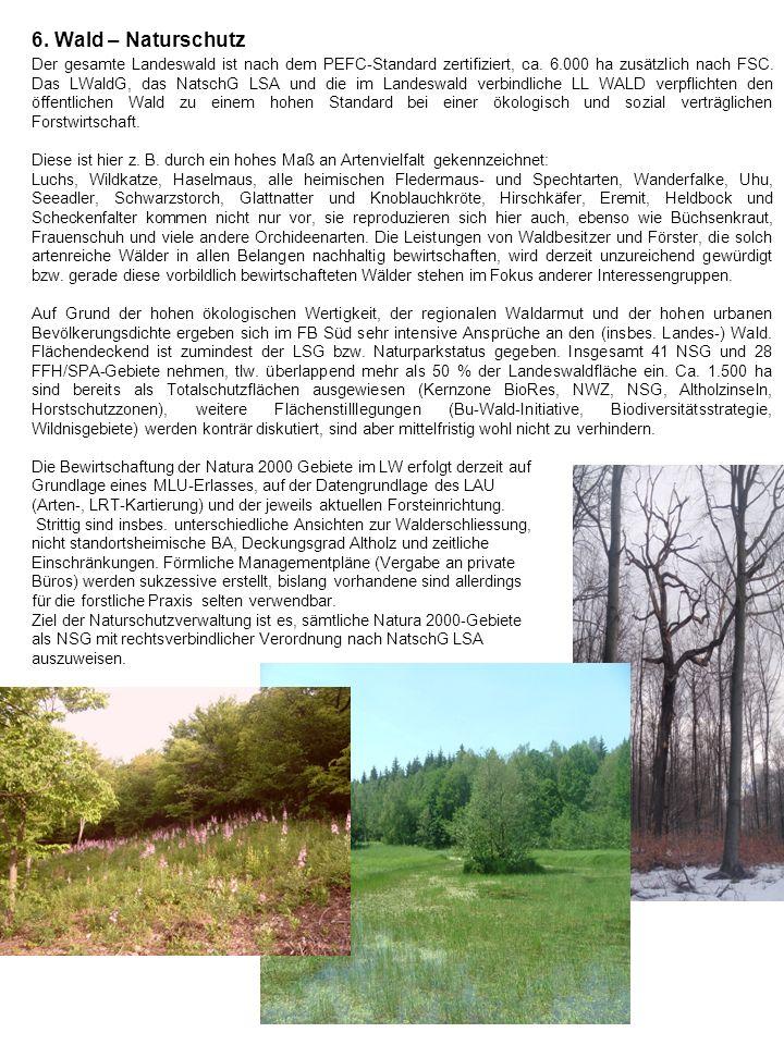 6. Wald – Naturschutz