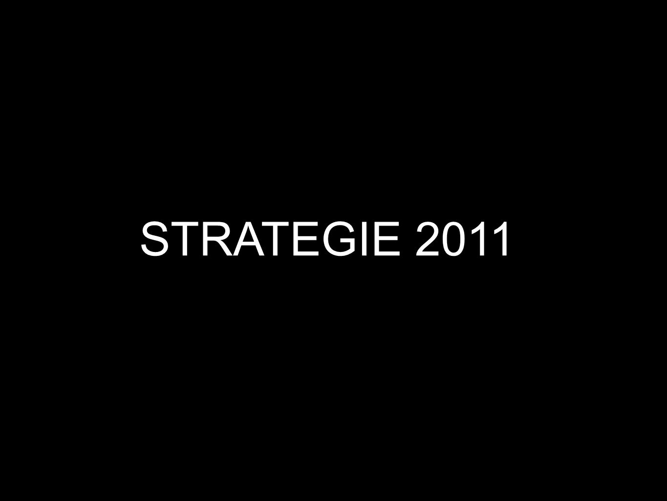 STRATEGIE 2011