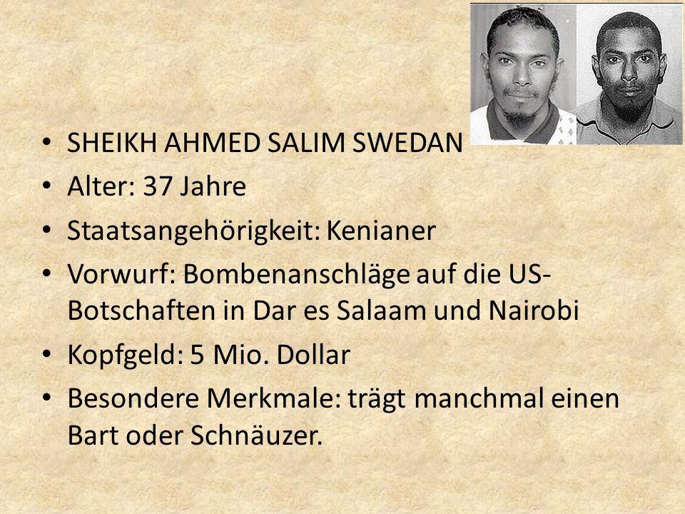 SHEIKH AHMED SALIM SWEDAN