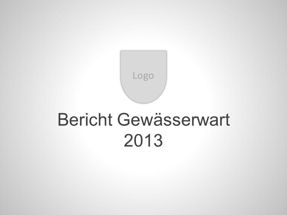 Logo Bericht Gewässerwart 2013