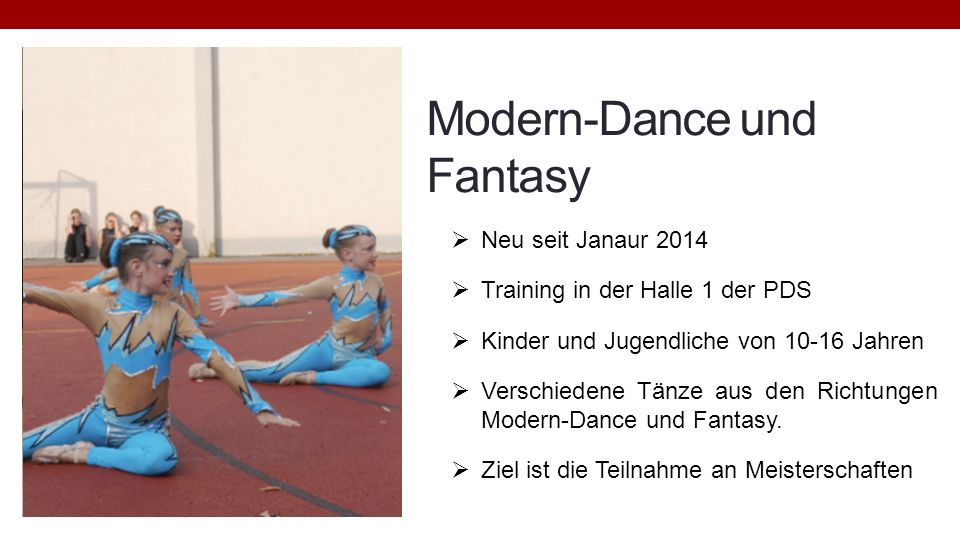 Modern-Dance und Fantasy