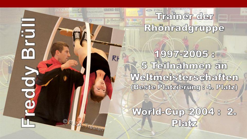Freddy Brüll Trainer der Rhönradgruppe 1997-2005 :