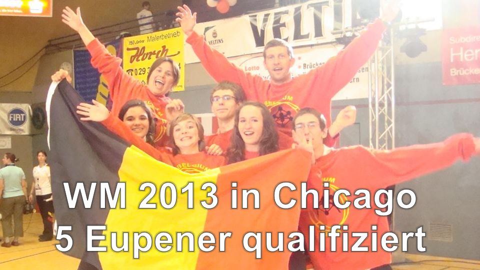 WM 2013 in Chicago 5 Eupener qualifiziert