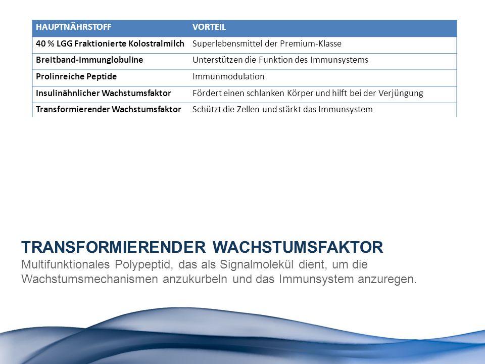 TRANSFORMIERENDER WACHSTUMSFAKTOR