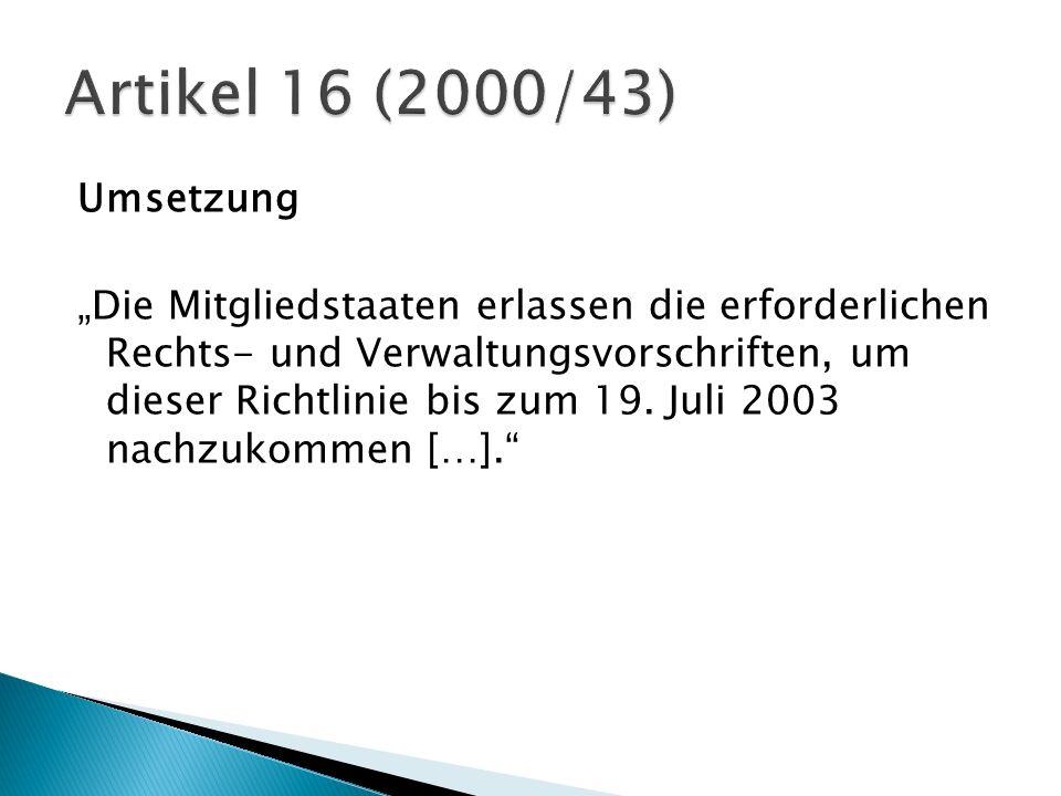 Artikel 16 (2000/43)