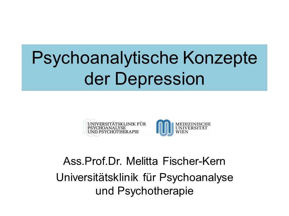 Psychoanalytische Konzepte der Depression