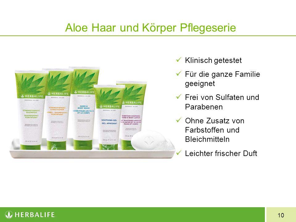 Aloe Haar und Körper Pflegeserie