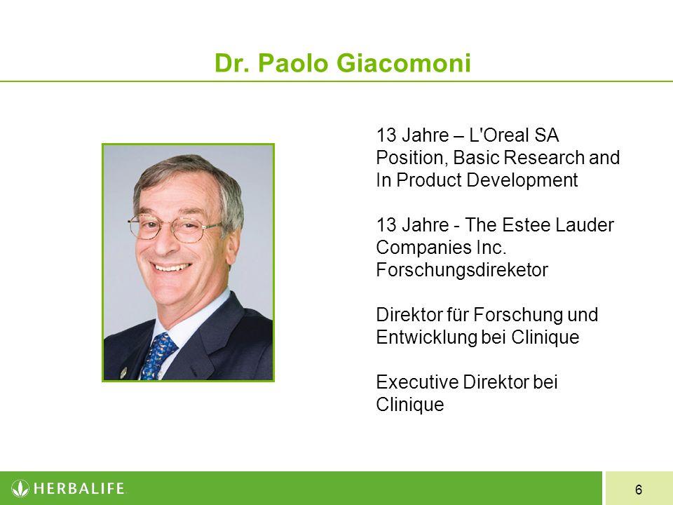 Dr. Paolo Giacomoni
