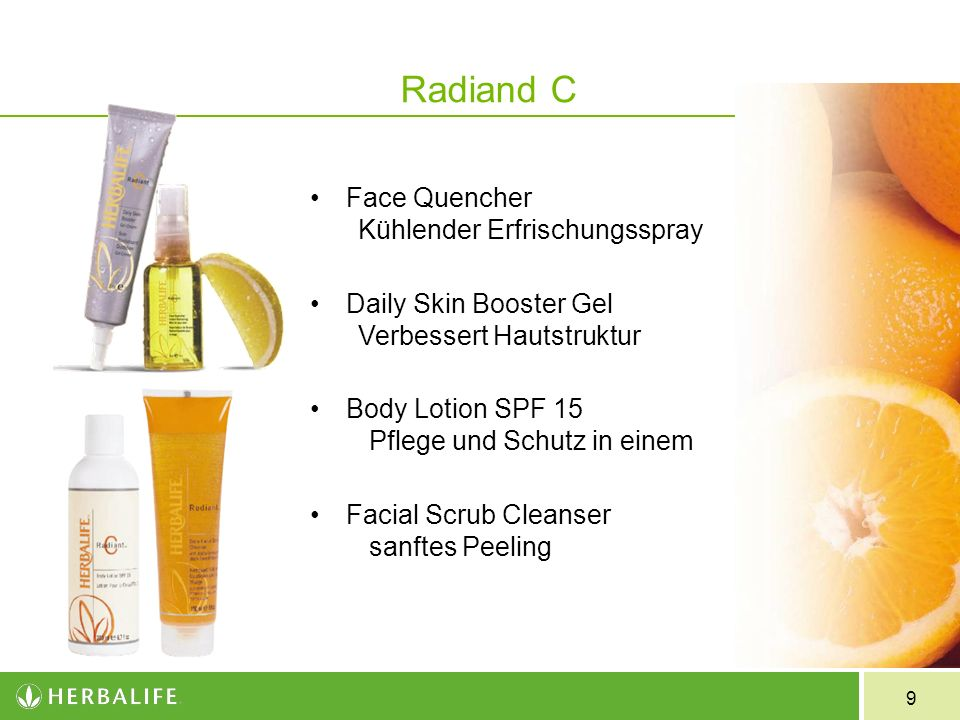 Radiand C Face Quencher Kühlender Erfrischungsspray
