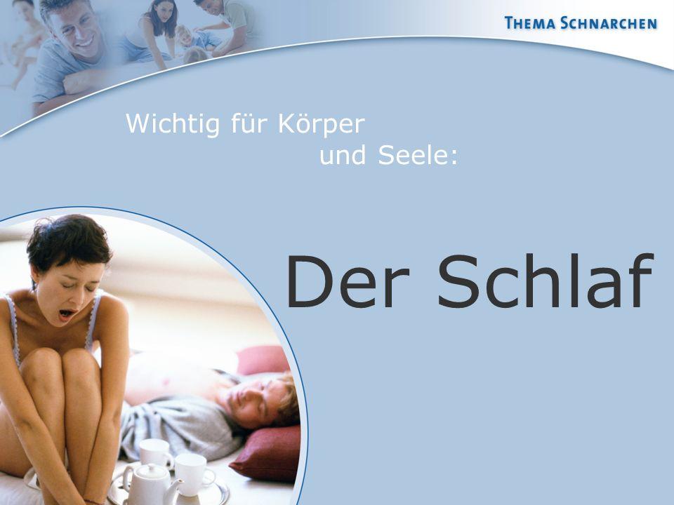 Wichtig für Körper und Seele: Der Schlaf