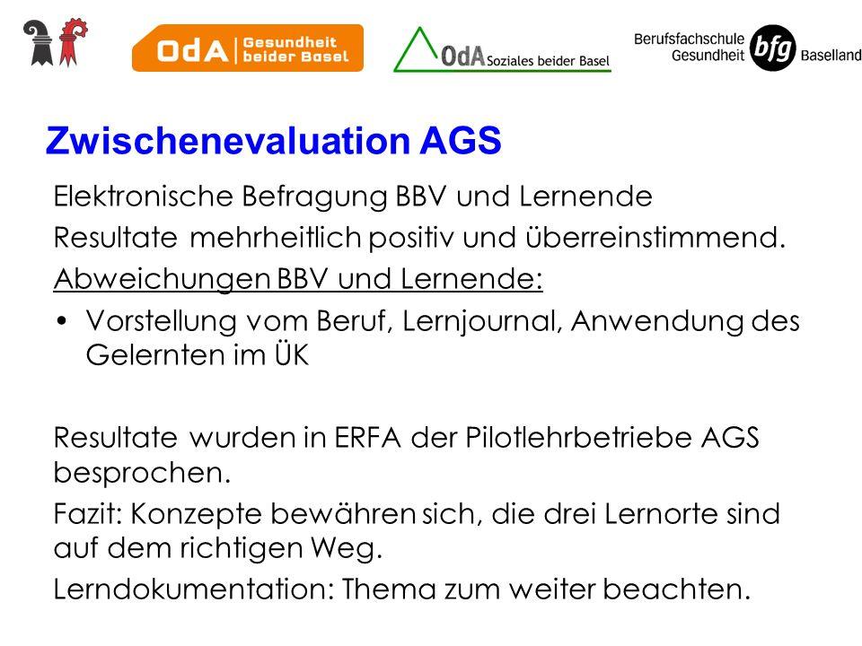 Zwischenevaluation AGS
