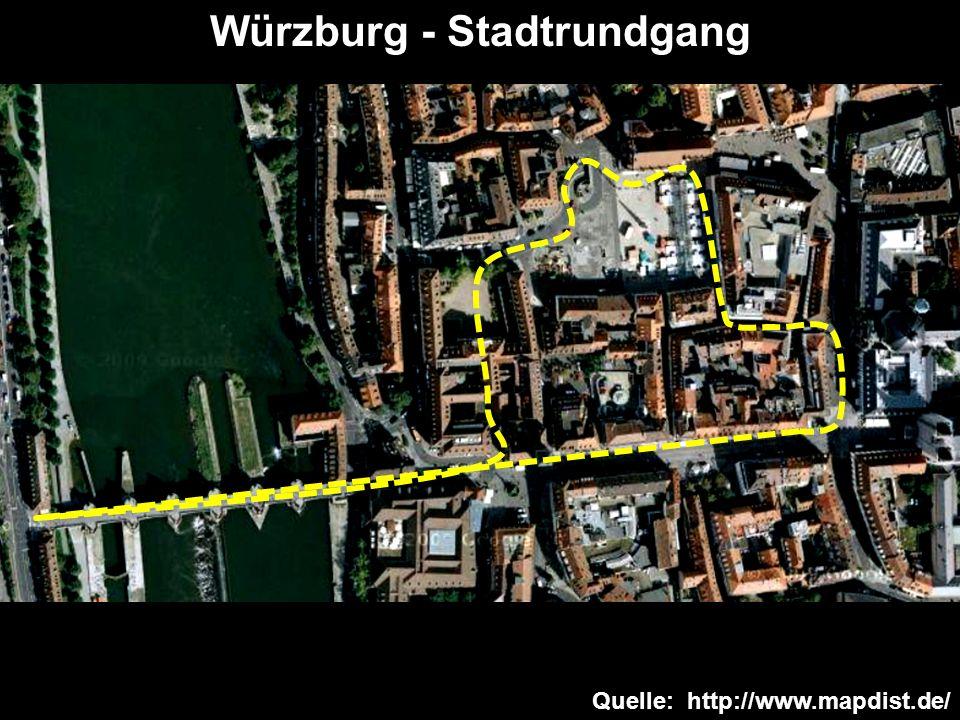 Würzburg - Stadtrundgang