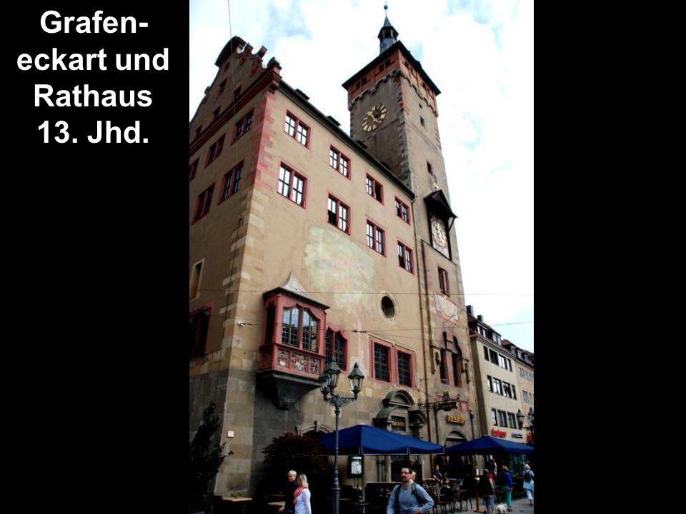 Grafen- eckart und Rathaus 13. Jhd.