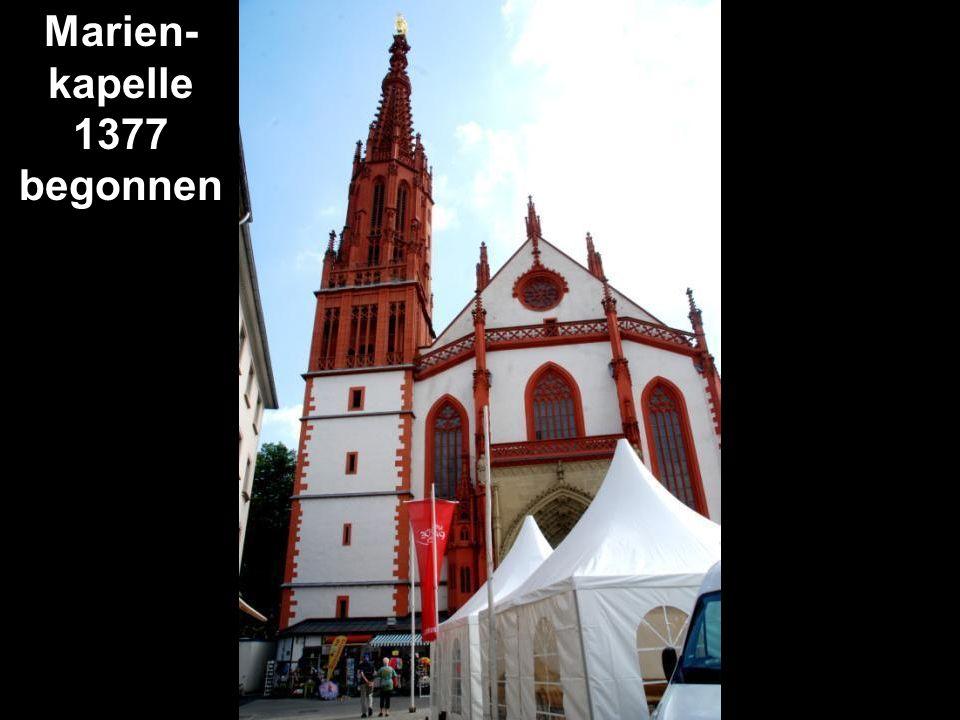 Marien-kapelle 1377 begonnen