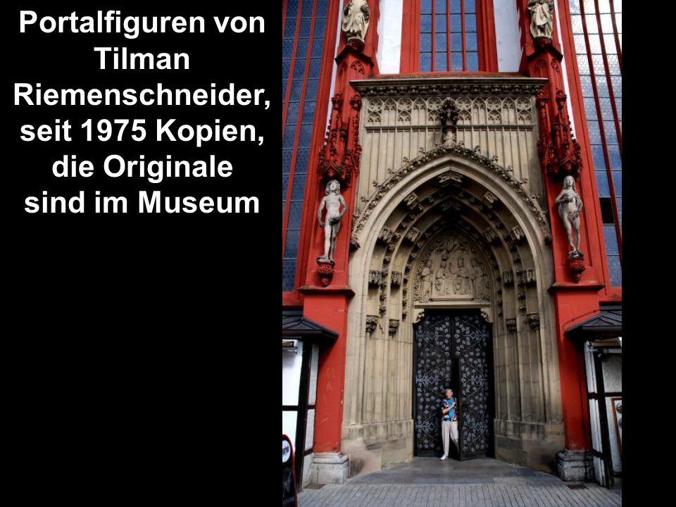 Portalfiguren von Tilman Riemenschneider,