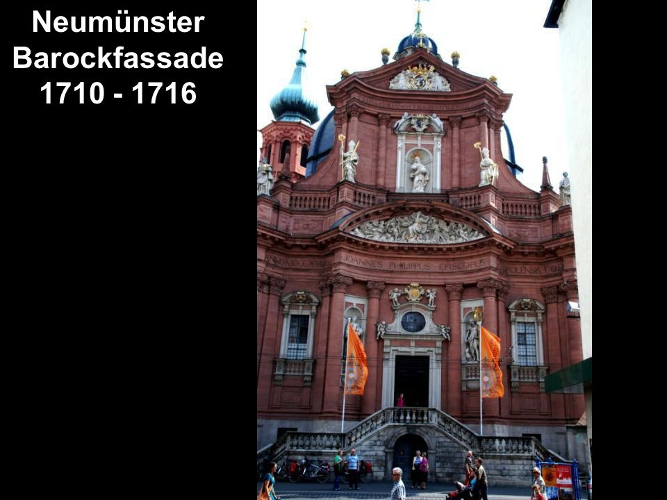 Neumünster Barockfassade 1710 - 1716