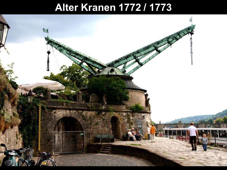 Alter Kranen 1772 / 1773