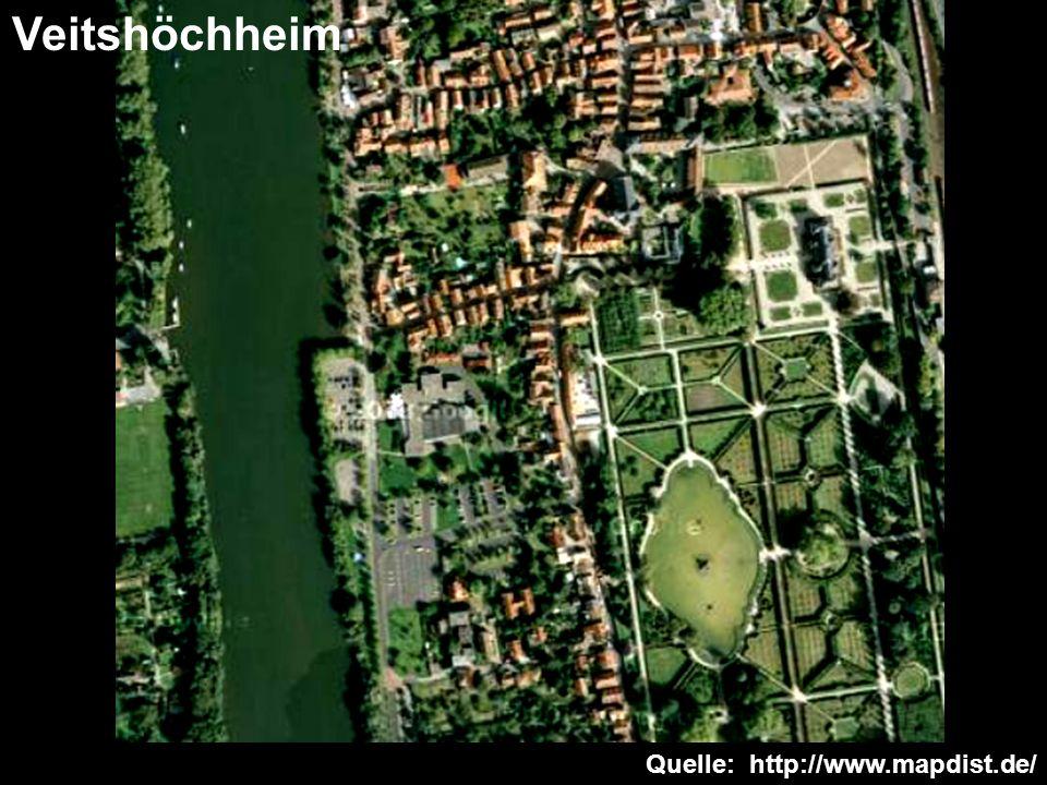 Veitshöchheim Quelle: http://www.mapdist.de/