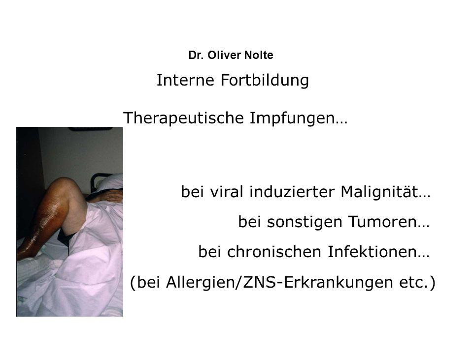 Therapeutische Impfungen…