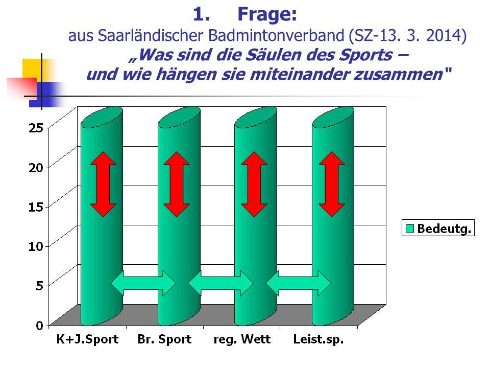 Frage: aus Saarländischer Badmintonverband (SZ-13. 3