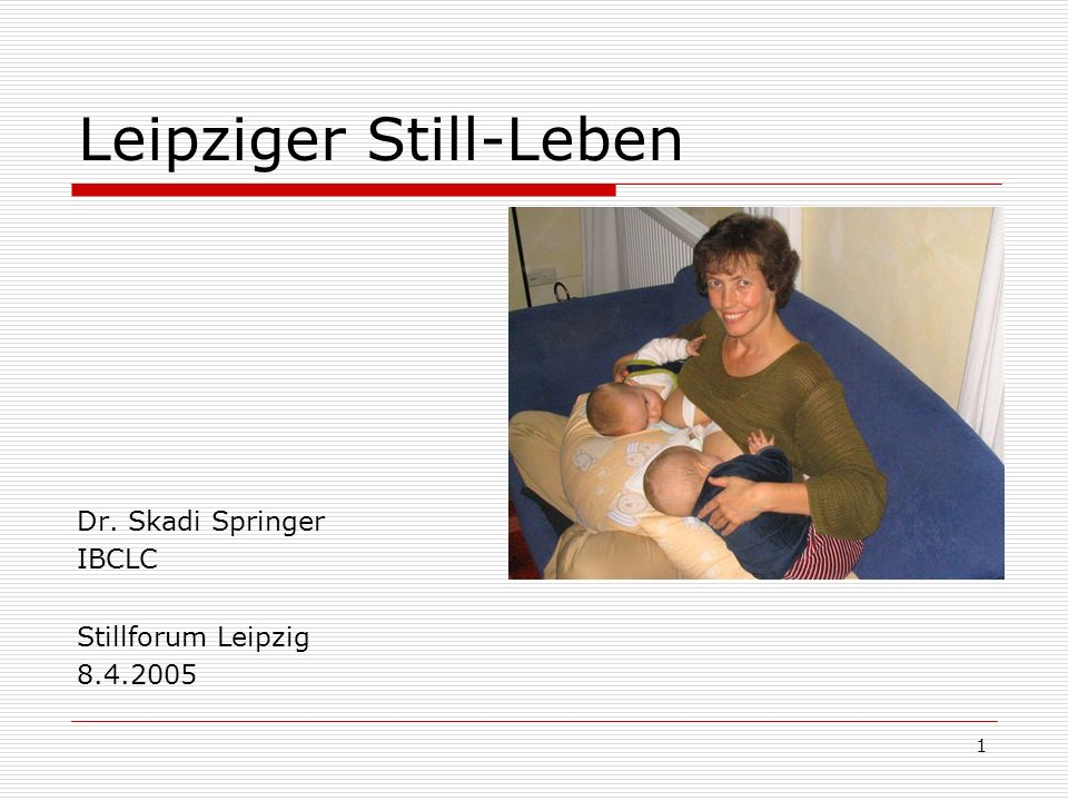 Leipziger Still-Leben