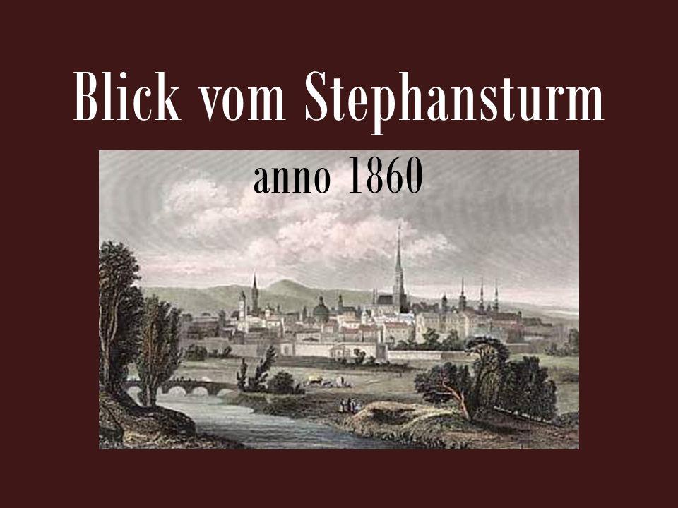 Blick vom Stephansturm