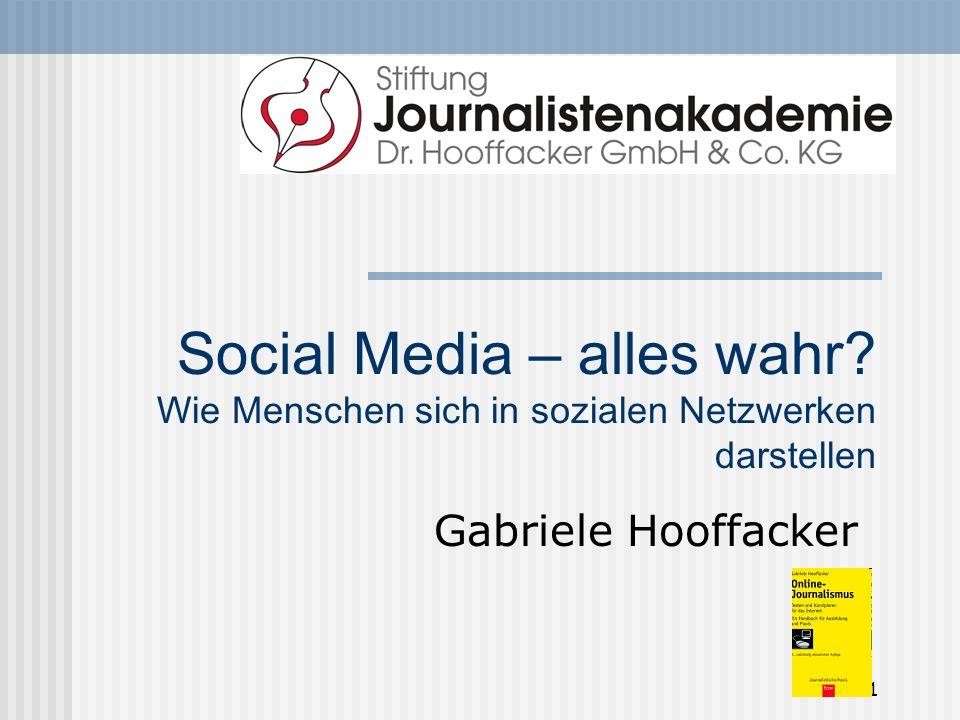 Social Media – alles wahr